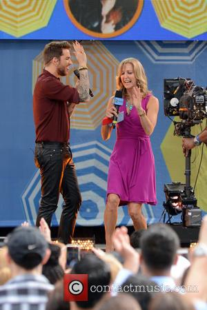 Adam Lambert and Lara Spencer