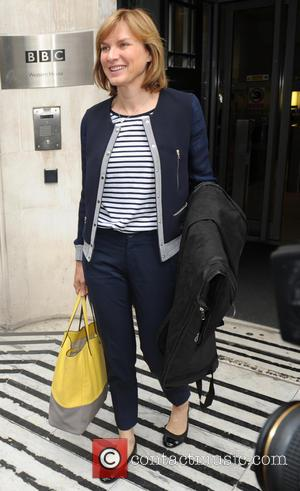Fiona Bruce - Fiona Bruce leaving the BBC Radio 2 Studios - London, United Kingdom - Friday 19th June 2015