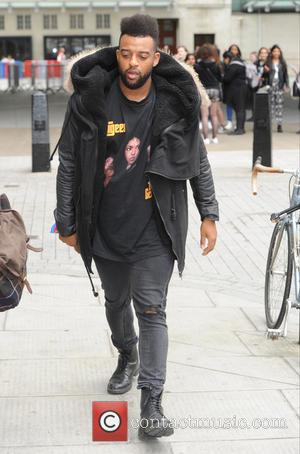 Oritsé Williams - Oritsé Williams seen out and about in London - London, United Kingdom - Friday 19th June 2015