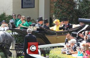 Prince Philip and Duke of Edinburgh - Royal Ascot 2015 held at Ascot Racecourse - Day 4 - Armed Forces...