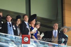 Prince Andrew, Duchess Of York, Sarah Ferguson, Princess Beatrice and Princess Eugenie