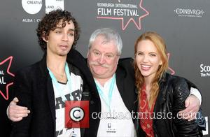 Robert Sheehan, David Blair and Tamzin Merchant