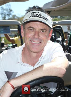 C. Thomas Howell - Los Angeles Police Memorial Foundation Celebrity Golf Tournament at Brookside Golf Club - Pasadena, California, United...