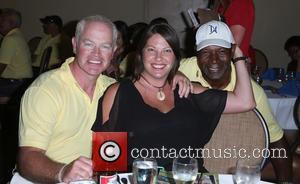 Neal Mcdonough, Ruve Mcdonough and Dennis Haysbert