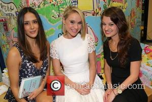 Ericka Hunter and Becca Tobin