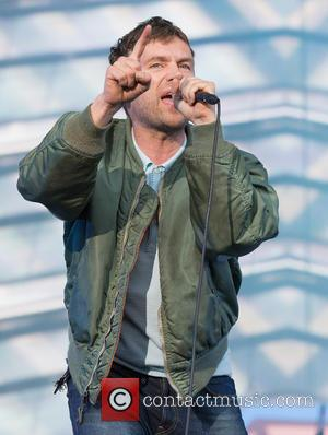 Damon Albarn and Blur - Barclaycard presents British Summer Time Hyde Park 2015 - Performances - Blur at Hyde Park...