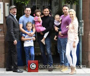 Dougie Tomas, Bruno Langley, Ryan Thomas, Adam Thomas and Caroline Daly