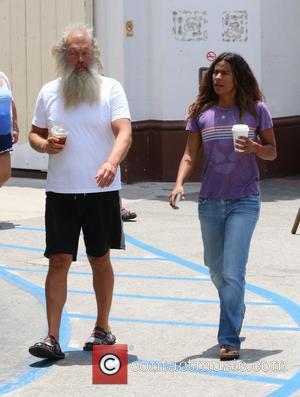 Rick Rubin and Amanda Santos