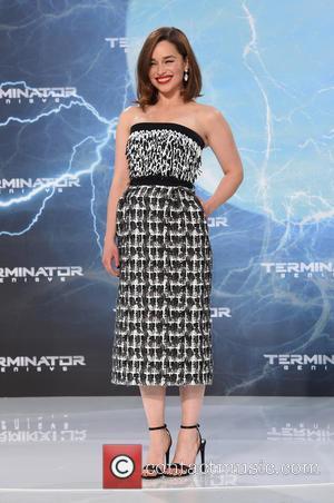 Emilia Clarke - The Terminator Genesis Berlin Premiere at Sony Center Berlin at Potsdamer Platz. - Berlin, Germany - Sunday...
