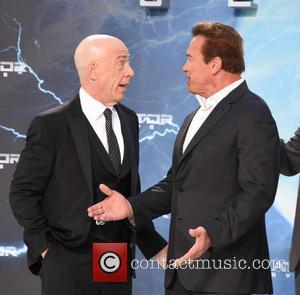 J.k. Simmons and Arnold Schwarzenegger