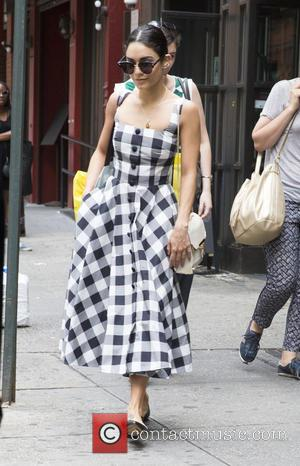 Vanessa Hudgens - Vanessa Hudgens uses an ATM before attending a matinee of 'Gigi' at NYC - New York, New...