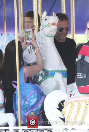 Vince Vaughn, Lochlyn Kyla Vaughn and Kyla Weber