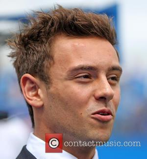 Tom Daley at The Queens Club