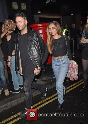 Jade Thirlwall and Aaron Carlo
