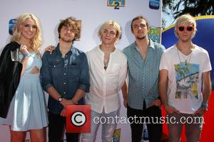 R5, Rydel Lynch, Ellington Ratliff, Ross Lynch, Rocky Lynch and Riker Lynch