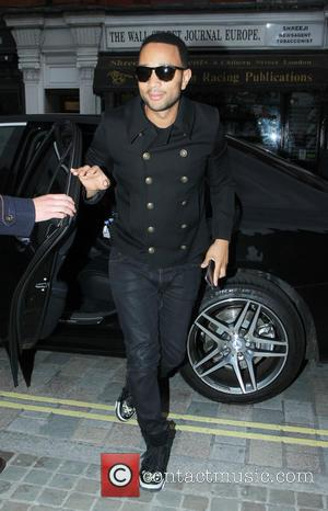 John Legend - Celebrities at Chiltern Firehouse in Marylebone - London, United Kingdom - Monday 22nd June 2015