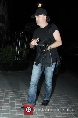 Lars Ulrich - Celebrities at Chiltern Firehouse in Marylebone - London, United Kingdom - Monday 22nd June 2015