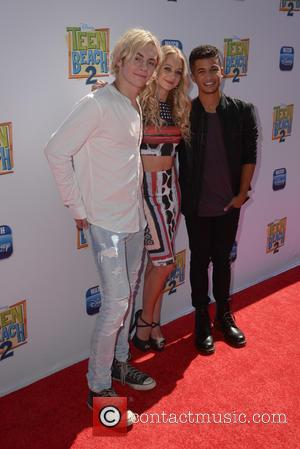 Ross Lynch, Mollee Gray and Jordan Fisher