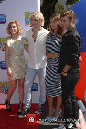 Grace Phipps, Ross Lynch and Maia Mitchell