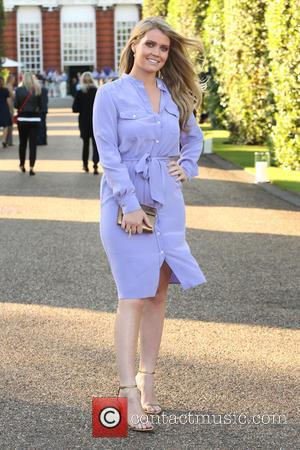Lady Kitty Spencer - Vogue and Ralph Lauren Wimbledon Party held at Kensington Place Orangery - Arrivals - London, United...