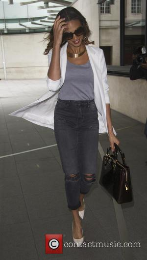 Alesha Dixon - Celebrities at the BBC studios - London, United Kingdom - Tuesday 23rd June 2015