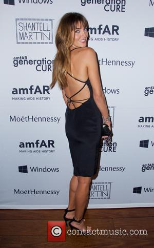 Alina Baikova - The 4th annual Solstice event to benefit amfAR at The Hudson Hotel - Arrivals - New York...