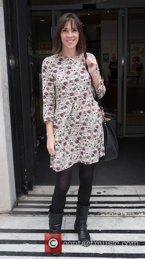 Verity Rushworth - Verity Rushworth pictured leaving the Radio 2 studios at BBC Western House - London, United Kingdom -...