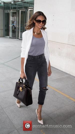 Alesha Dixon - Alesha Dixon pictured leaving the BBC Studios at BBC Portland Place - London, United Kingdom - Tuesday...