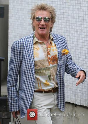 Rod Stewart - Rod Stewart outside ITV Studios today - London, United Kingdom - Tuesday 23rd June 2015