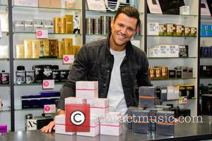 Mark Wright - Mark Wright launches two new fragrances 'Mark Wright for Men' and Mark Wright for Women' at Bluewater...