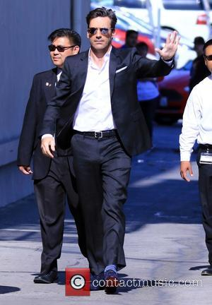 Jon Hamm - Celebrities arrive at the ABC studios for 'Jimmy Kimmel Live!' at Jimmy Kimmel Studio - Los Angeles,...
