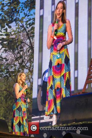 Katherine Ryan - Katherine Ryan performs at the British Summertime Comedy Night in Hyde Park at Hyde Park London -...