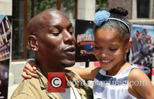 Tyrese Gibson and Shayla Somer Gibson - Fast & Furious - Supercharged Ride opens at Universal Studios Hollywood at Universal...