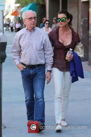 Janice Dickinson and Dr Robert Gerner at Beverly Hills