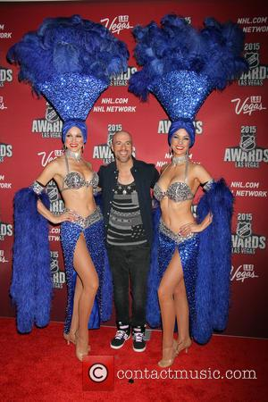 Chris Daughtry - 2015 NHL Awards held at MGM Grand Garden Arena inside MGM Grand Hotel & Casino - Arrivals...