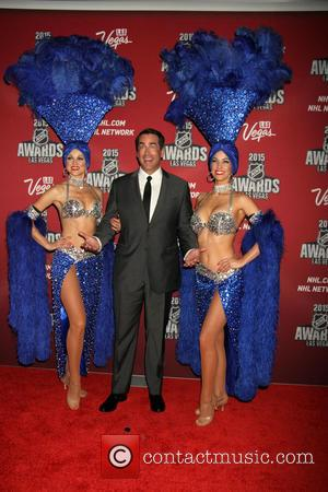 Rob Riggle - 2015 NHL Awards held at MGM Grand Garden Arena inside MGM Grand Hotel & Casino - Arrivals...