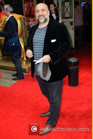 Omid Djalili - 'Bend it Like Beckham' musical at the Phoenix Theatre - Arrivals - London, United Kingdom - Wednesday...