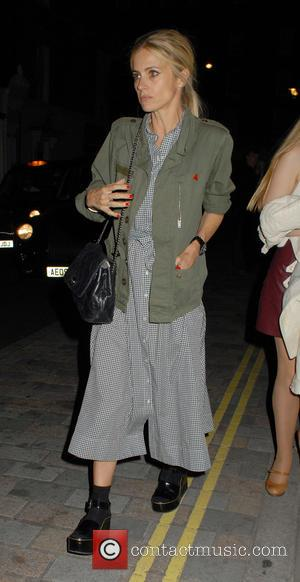 Laura Bailey - Celebrities at the Chiltern Firehouse - London, United Kingdom - Wednesday 24th June 2015
