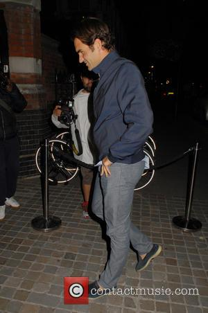 Roger Federer - Celebrities at the Chiltern Firehouse - London, United Kingdom - Wednesday 24th June 2015
