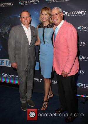 Discovery, David Zaslav, Paula Zahn and Henry Schleiff