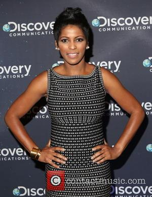 Tamron Hall - Discovery Channel's 30th anniversary party at Paley Center for Media - Arrivals - New York, United States...