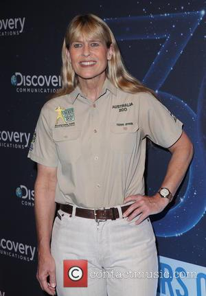 Terri Irwin - Discovery Channel's 30th anniversary party at Paley Center for Media - Arrivals - New York, United States...