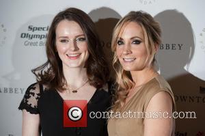 Sophie McShera and Joanne Froggatt - Downton Abbey gala dinner for Special Olympics GB held at the Landmark Hotel. -...