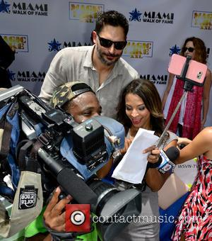 Joe Manganiello - Magic Mike XXL cast honored with stars on the official Miami Walk Of Fame at Bayside Marketplace,...