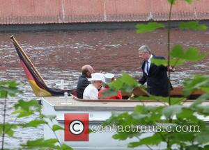 Prince Philip, Queen Elizabeth Ii, Daniela Schadt and Joachim Gauck