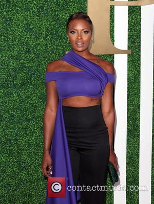 Eva Marcille - 2015 BET Awards - Debra Lee Pre-Dinner at Sunset Tower Hotel - Los Angeles, California, United States...