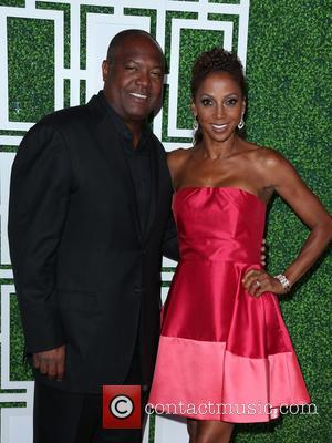 Rodney Peete and Holly Robinson Peete - 2015 BET Awards - Debra Lee Pre-Dinner at Sunset Tower Hotel - Los...