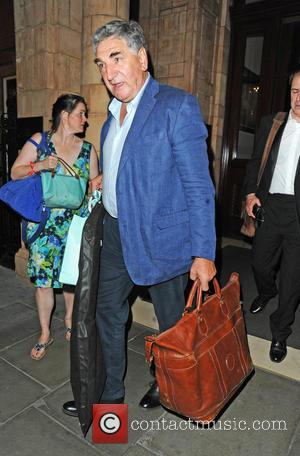 Jim Carter - Celebrities at The Landmark London Hotel - London, United Kingdom - Wednesday 24th June 2015