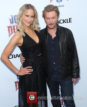 Brittany Daniel and David Spade