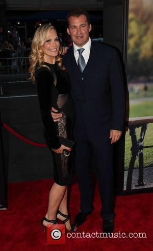 Molly Sims and Scott Stuber - New York premiere of 'Ted 2' at the Ziegfeld Theater - Red Carpet Arrivals...